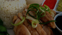 The evolution of Hainanese chicken rice