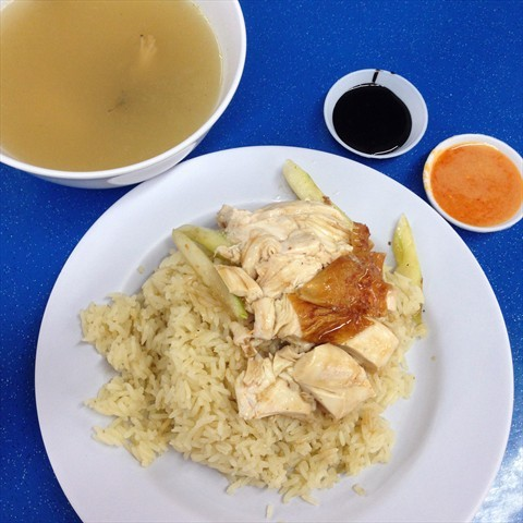 Uncle Louis Hainanese Chicken Rice & Roasted Meat  海南雞飯 . 燒腊